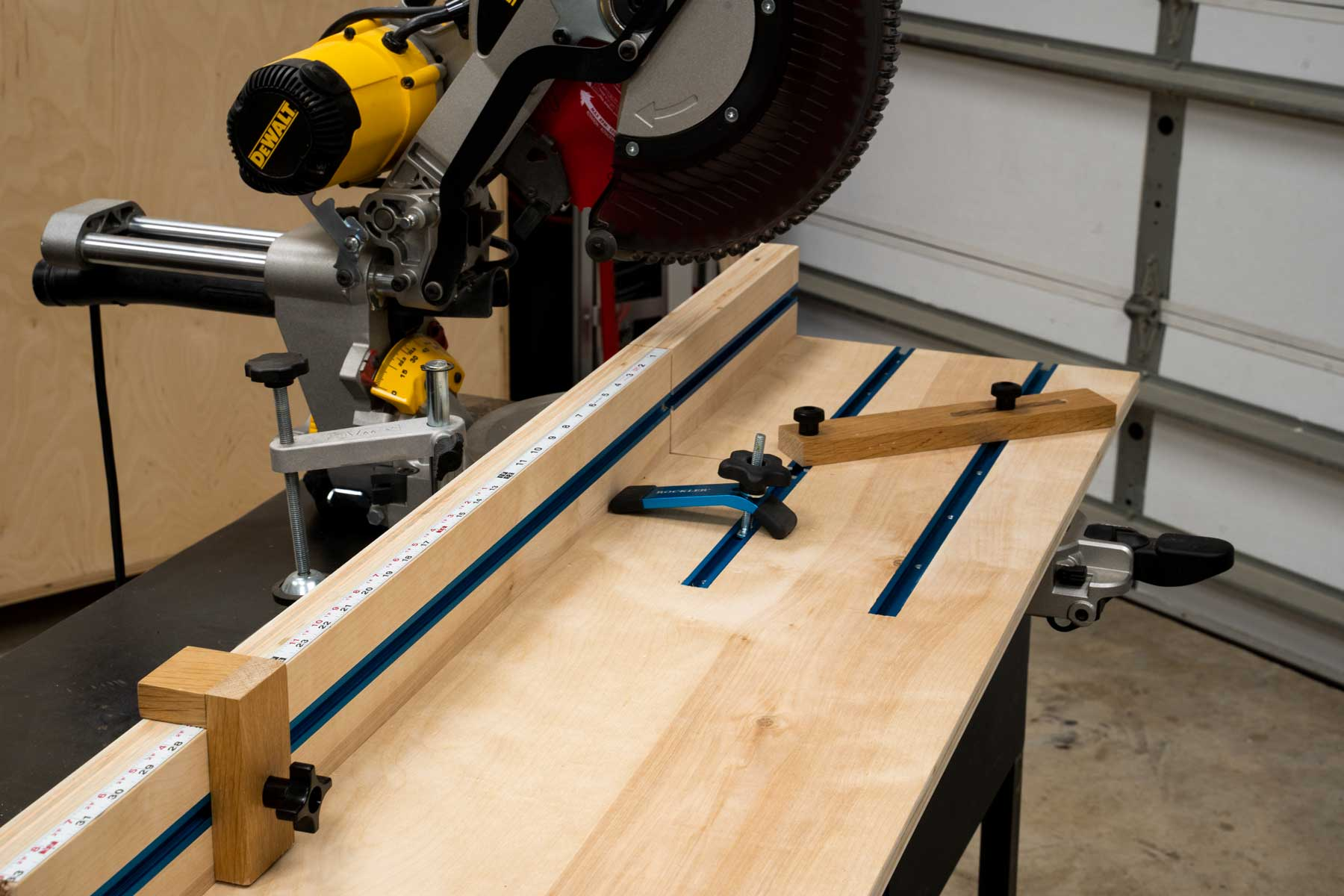 The Bosch Axial Glide Miter Saw!